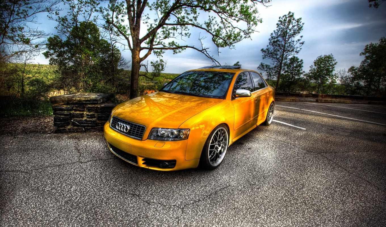 ауди, max, дороге, желтый, автомобили, машина, назад, выбрать, автомобиль, похожие, категорию,