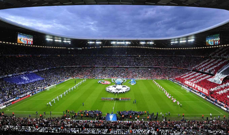 league, champions, final, munchen, bayern, челси, arena, allianz,