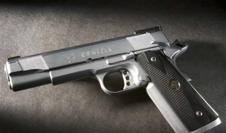 оружие, картинка, пистолет, металл, красиво, картинку, кнопкой, мыши,
