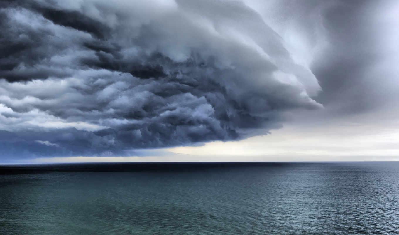 фронтовой, спокойствие, бурей, дня, три, штормом, буря, lightning,