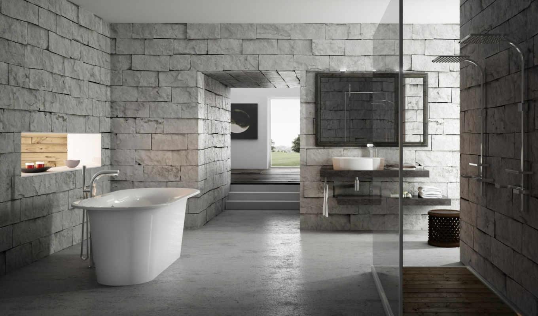 interer, ванная, ванна, комната, dizain,