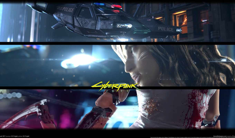 cyberpunk, inch, trailer, плакат,