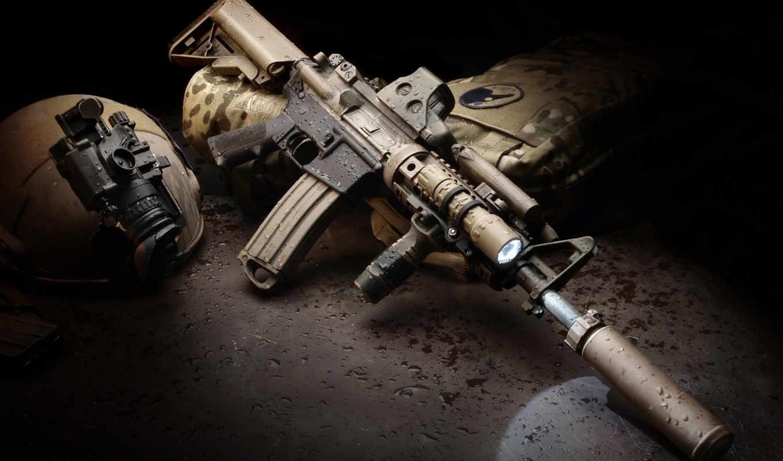 rifle, con, larue, descargalo, июня, táctico, silenciador,