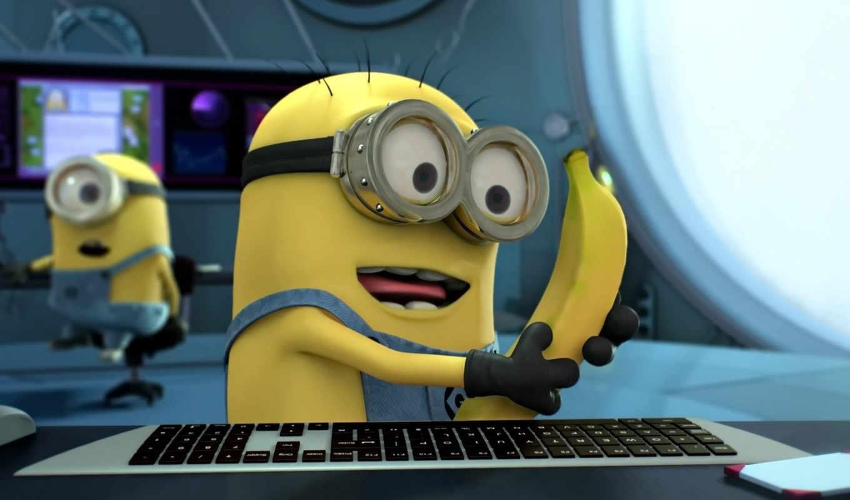 гадкий, миньоны, minions, банан, despicable,