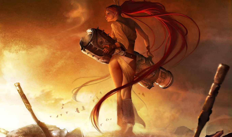 heavenly, меч, art, nariko, об, характер, artwork, pinterest, see, more,
