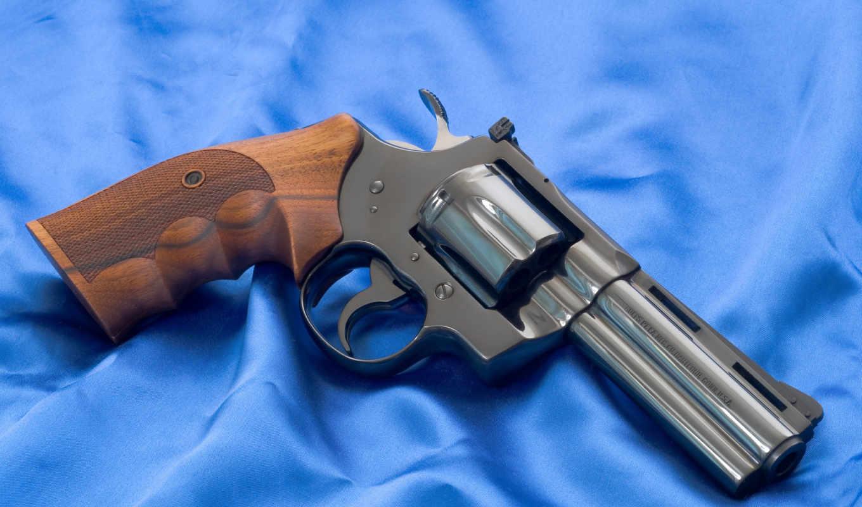 револьвер, оружие, кольт, питон, огнестрел, картинка, картинку,