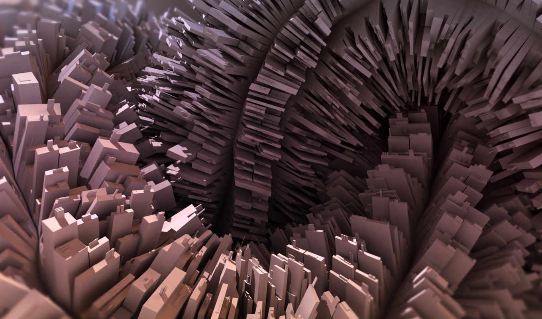 прямоугольник, abstract, трехмерная, композиция, desktop, картинка, mixed, примитивов, paper, best, pack, loop,