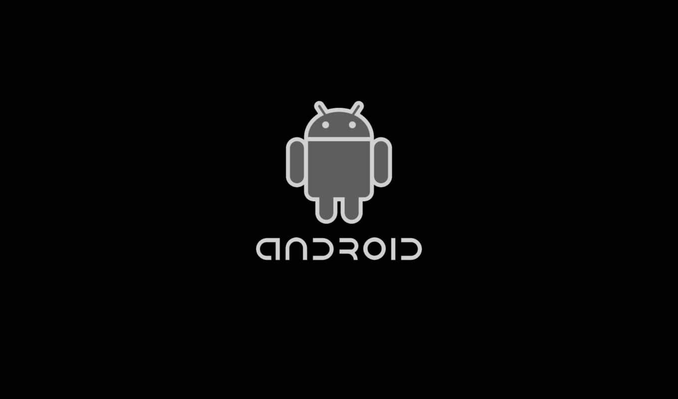 android, iphone, logo, black, grey
