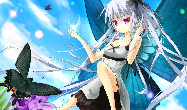 anime, девушки, девушка, взгляд, вконтакте, аватар,