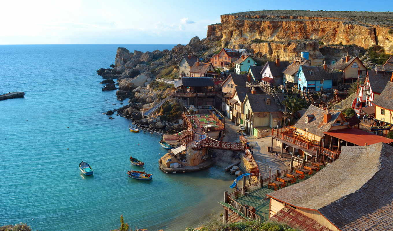 coastal, деревня, мальта, wondrous, article, зуррик, руб, даты, blue, грот,