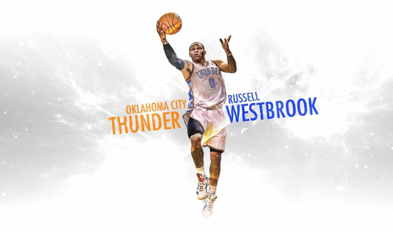 баскетбол, город, oklahoma, тандер, thunder, спорт, рассел, westbrook, nba,