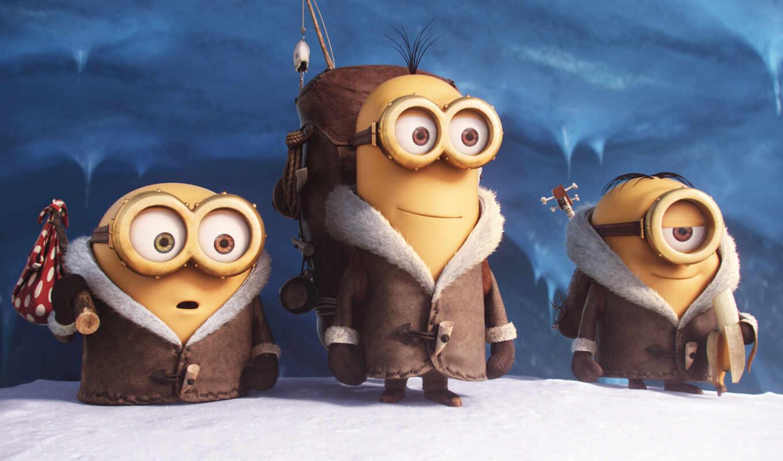 minions, filme, movie, trailer, yellow, und, den,