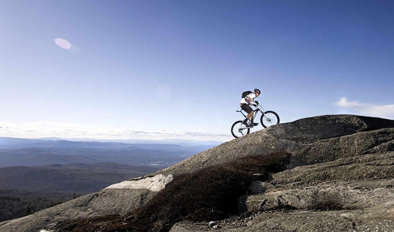 велосипед, горы, спорт, апхилл, кантри, кросс,