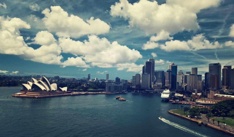 сидней, можно, австралия, марта,