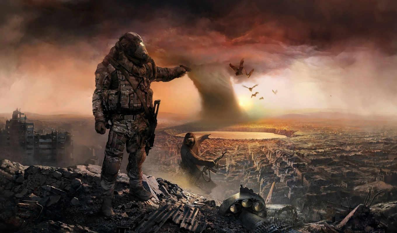 apocalypse, качестве, фантастические, монитора, постапокалипсис, fantasy, фэнтези,
