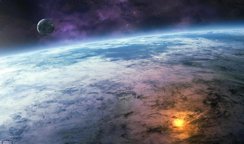 космос, планета, земля, картинка, картинку,