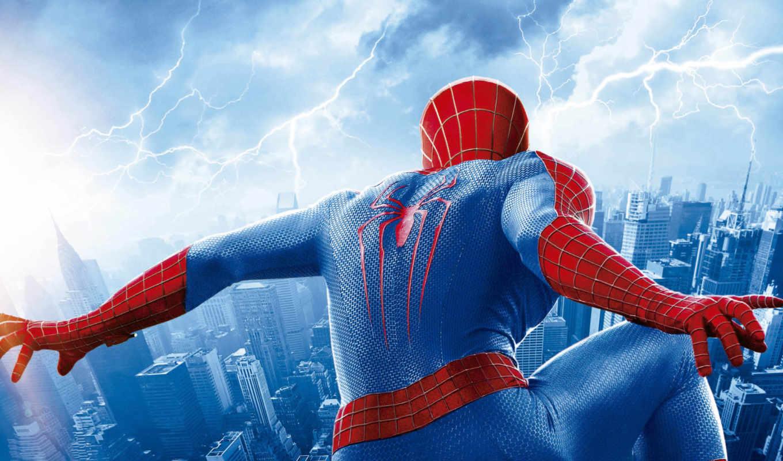 мужчина, паук, amazing,