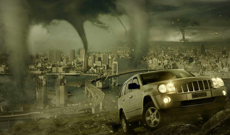 торнадо, обои, wallpapers, город, hd, фото, carro,