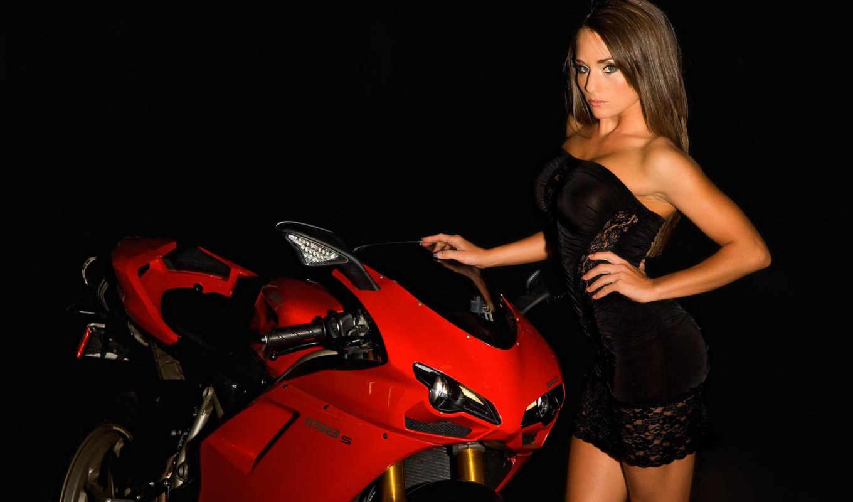 girl, ducati, moto, hot, девушки, nicole, мотоциклы, with, bike,