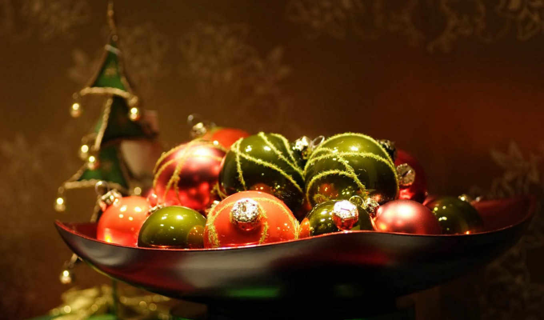 год, новый, игрушки, макро, картинка, шарик, праздники, новогодние,