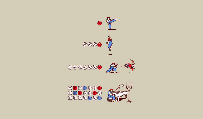 игра, комбо, прикол, бит, боец, минимализм, атака, картинка,