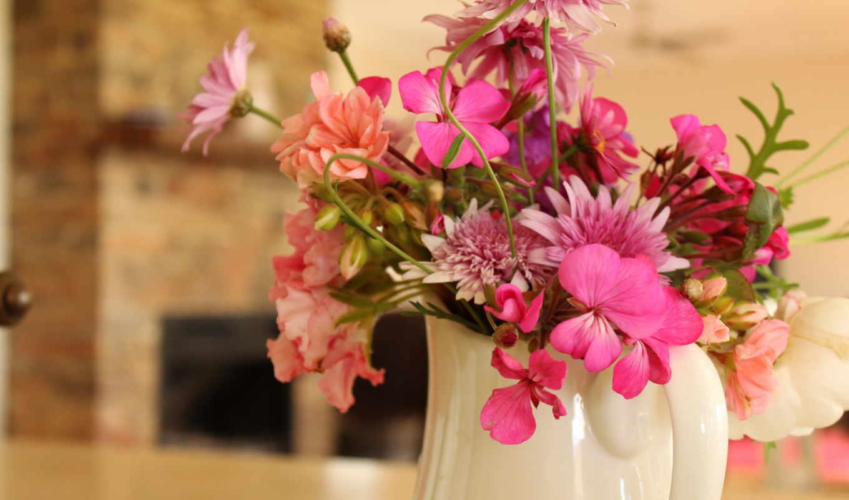 цветы, букеты, букет, хризантемы, герберы,