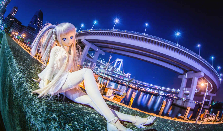 город, девушка, стиль, anime,