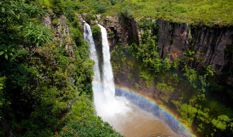 природа, красивые, разделе, водопад, живыми, прекрасными, сказочно, раскрывающими, лес, красиво,