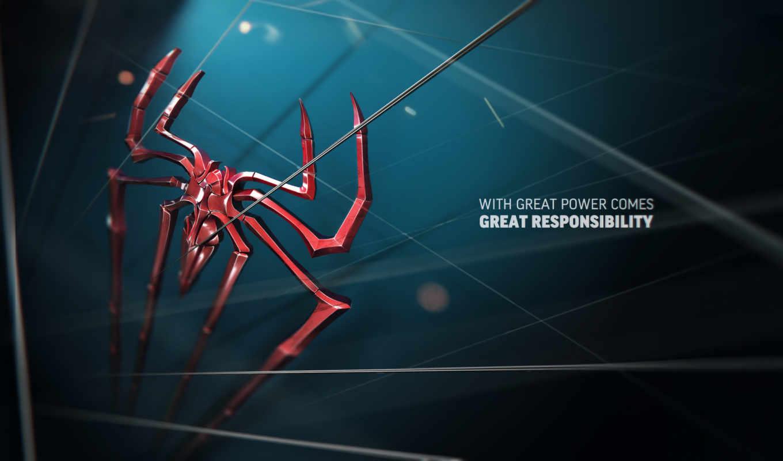 fondos, pantalla, spiderman, hombre, araña,