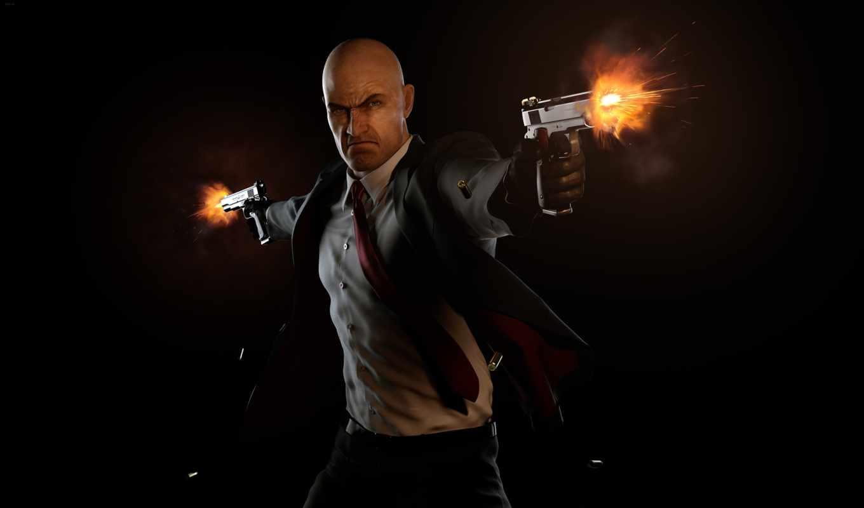 hitman, лысый, агент, absolution, игры, game, масть, shooting,