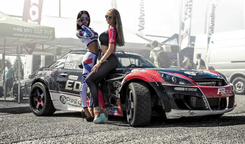 девушка, авто, автомобили, devushki, car, race, свежая, подборка, спорт,