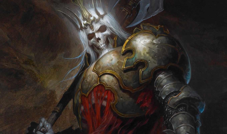diablo, king, скелетов, остов, iii, леорик,