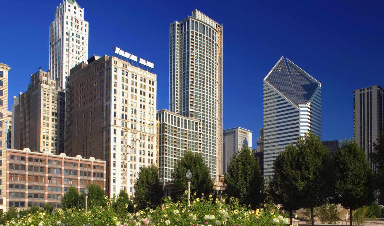 chicago, иллинойс, красивейшие, город, города, мира, architecture, state, марта, франция, центр, uxga, web, pack,