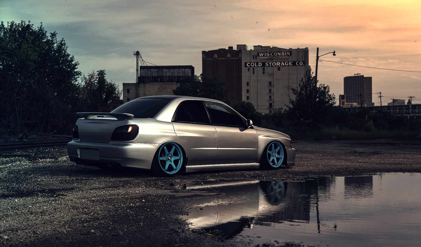 subaru, impreza, wrx, сти, dacherydesign, clean, cars, car,