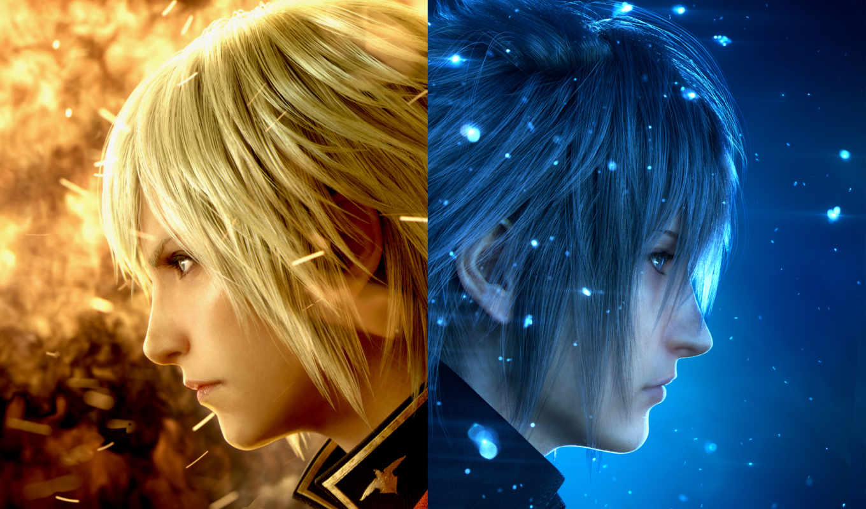 fantasy, final, xv, games, demo, вид, square, enix,