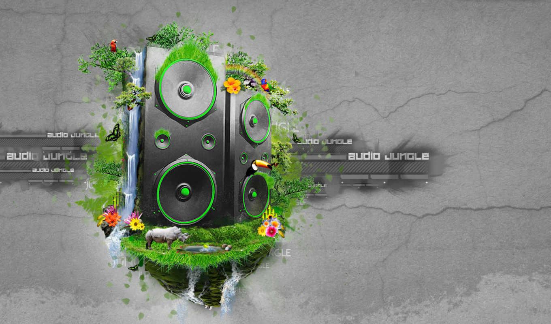 jungle, audio, dj, обои, музыка, wallpapers, карти