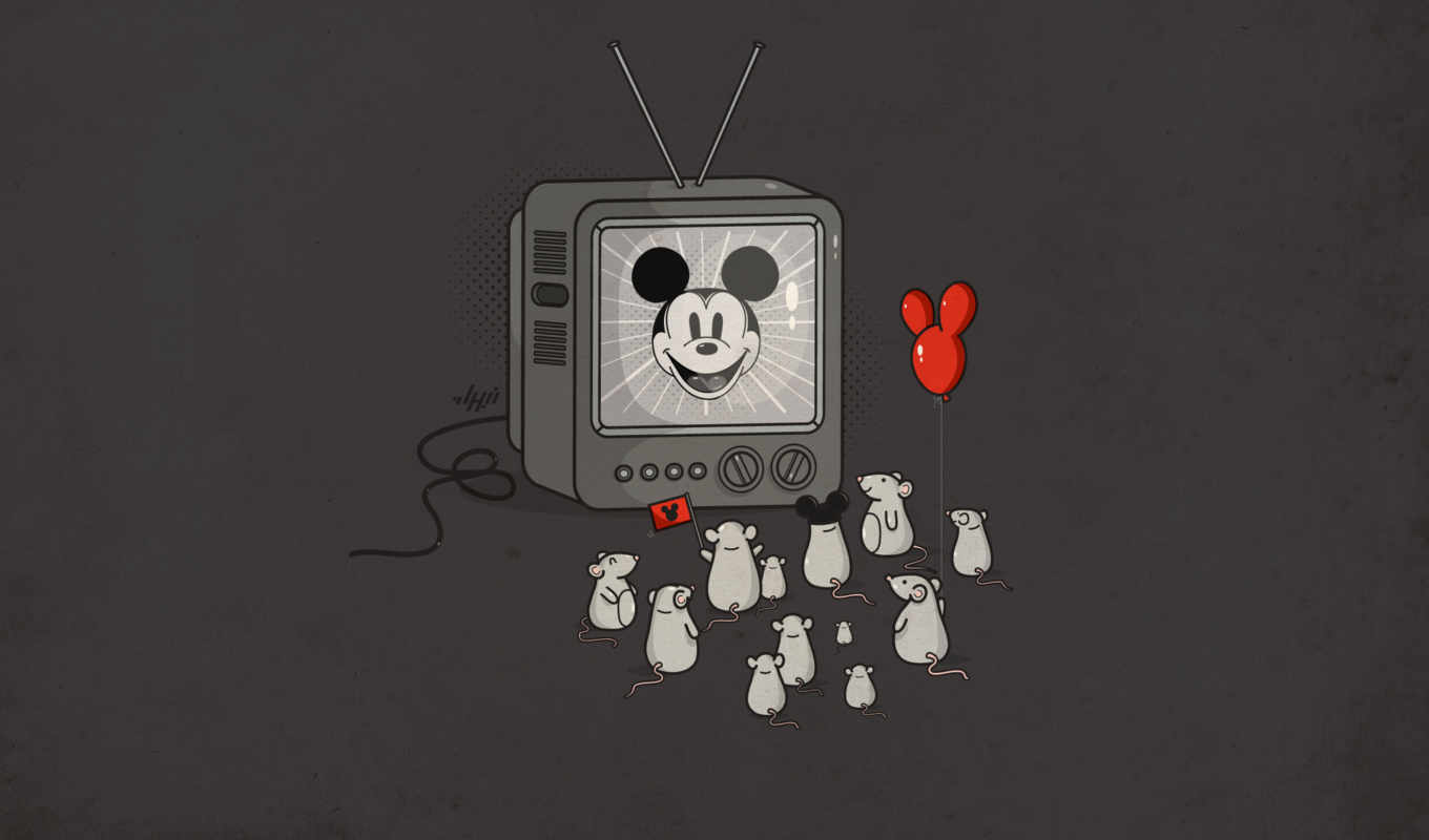 tv, mickey, mouse, mice, idol, fans, wallpaper, кнопкой,