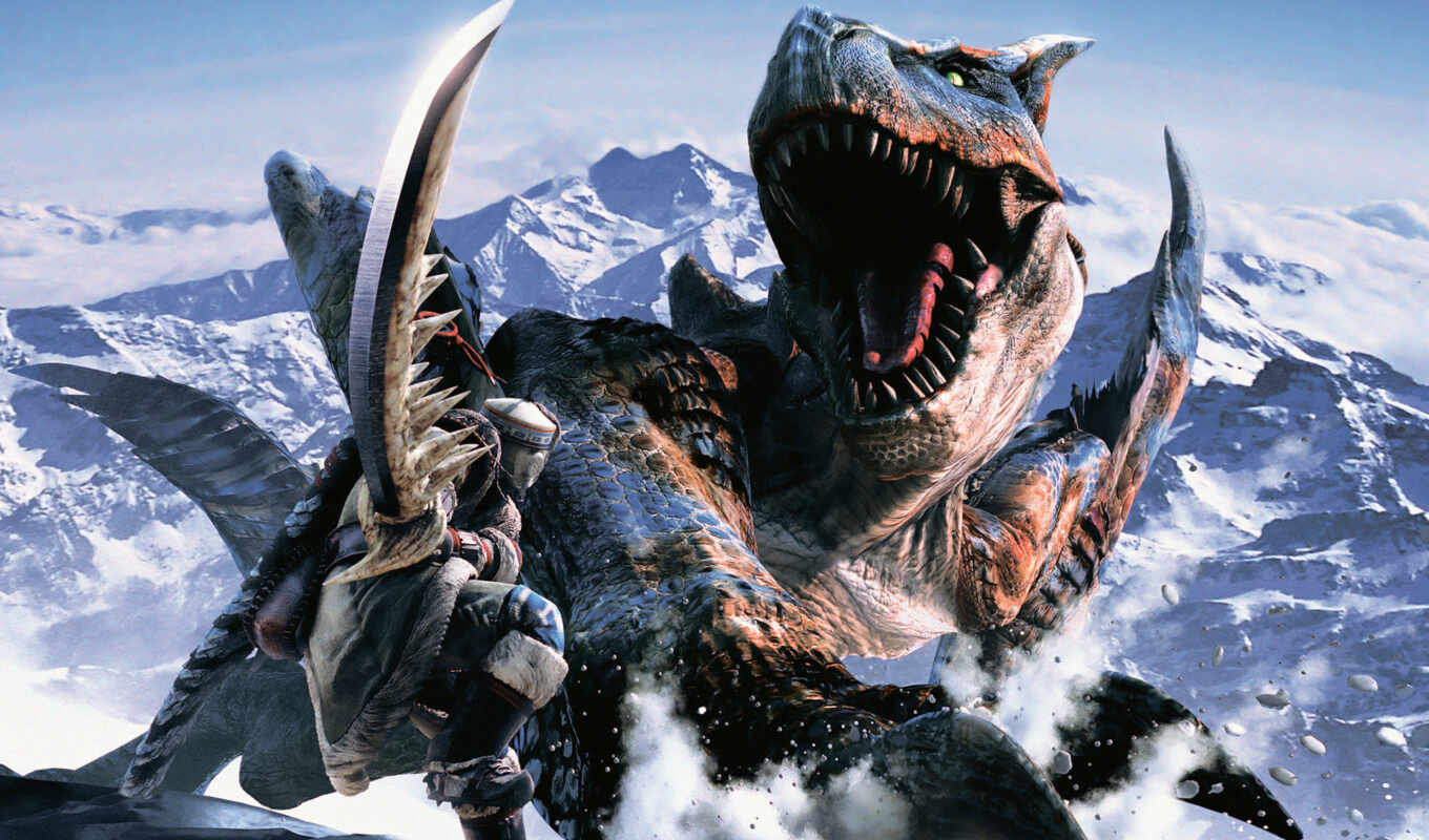 monster, hunter, игры, game, компьютерные, games, дракон, видео, картинку, filep, info, part, www, playstation,