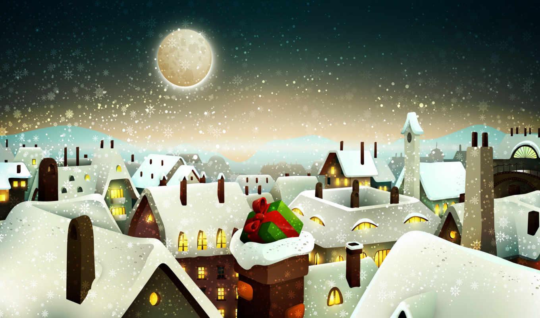 christmas, ева, new, окна, merry, zima, еще, снег,