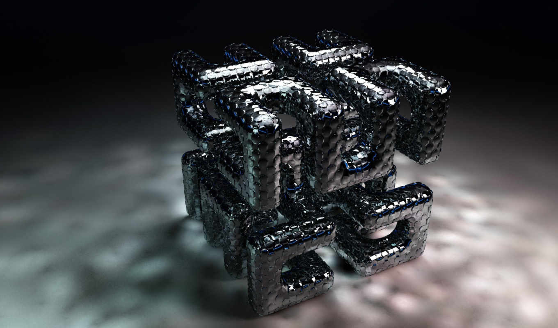 трехмерной, cube, графикой, maze, фона, подборка, картинок, нравится, gray, красивых,