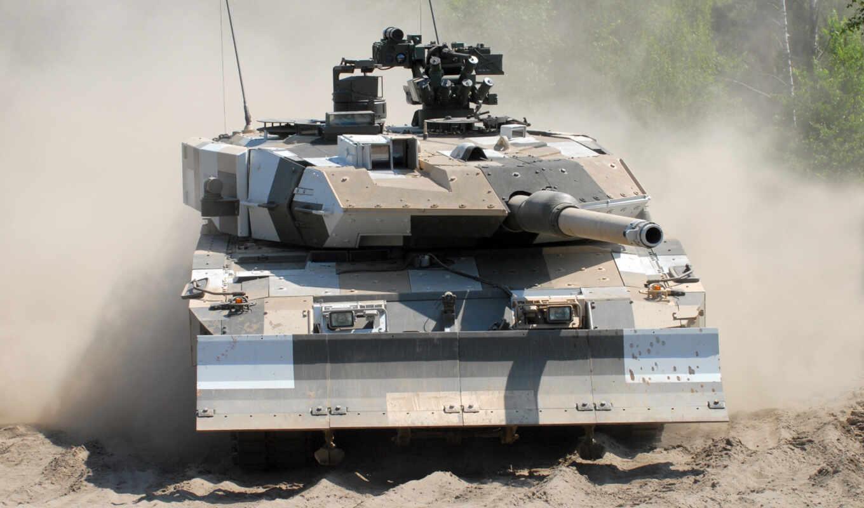 ,leopard 2,танк,пыль,