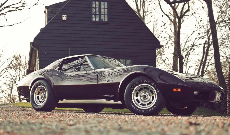 chevrolet, corvette, ретро, машины, vintage,