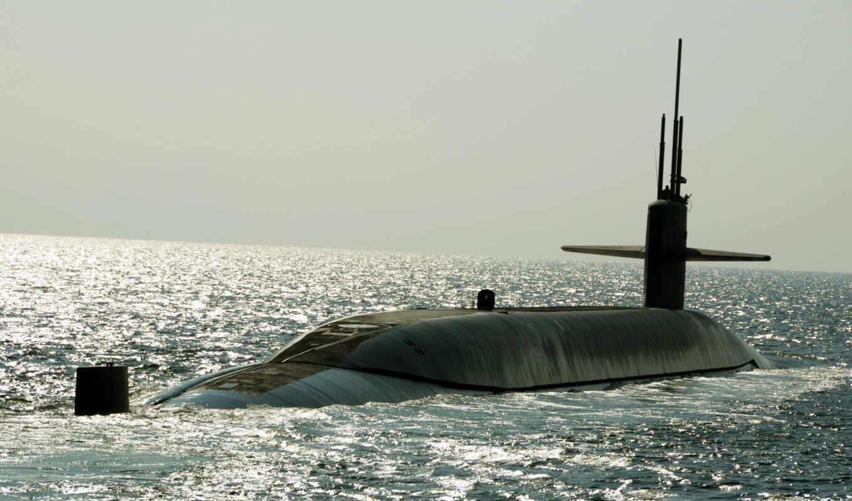 ssbn, maryland, uss, картинка, лодка, подводная, атомная,