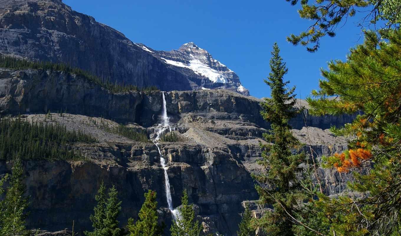 картинка, природа, горы, robson, канада, provincial, rock, park, паркс,