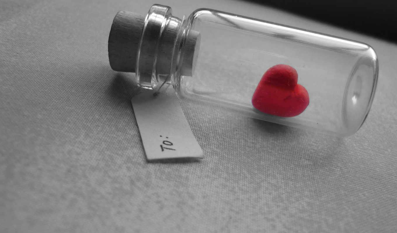 love, сердце, баночка,