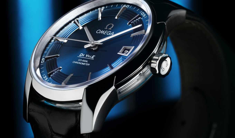 omega, vision, hour, blue, ville, watch, denek