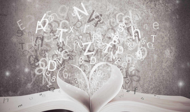 книга, раскрытая, клипарт, растровый, открыть, буквами, firestock, растовые, клипарты,