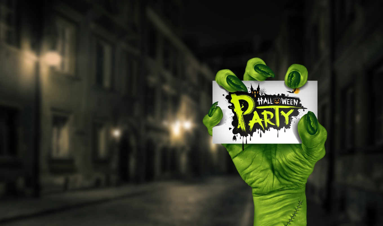 halloween, time, вечеринку, сторона, уи, invitation, cover,