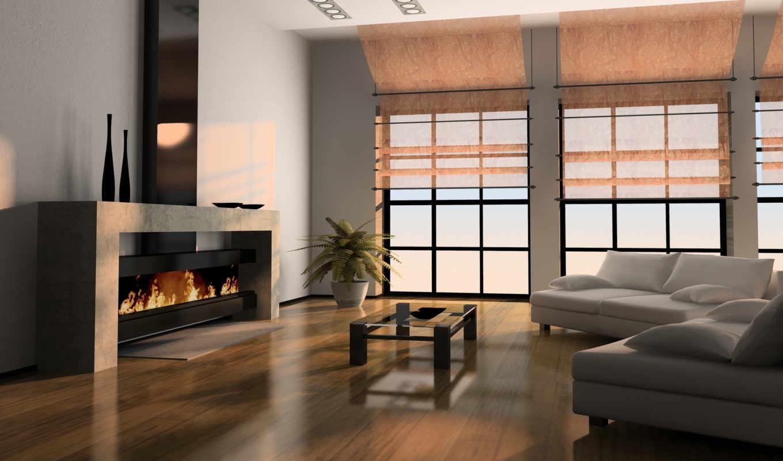 камин, диваны, гостиная, интерьер, комната, окно, столик, камином, гостиной, oak, dekor, холл,