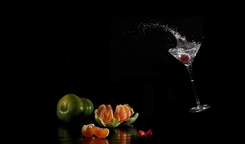 вода, капли, брызги, бокал, чёрный, жидкость,